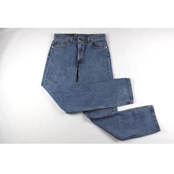 baa48403 Levi's Jeans | Vintage 90s Levis Mens Leg Denim Pants Blue | Poshmark